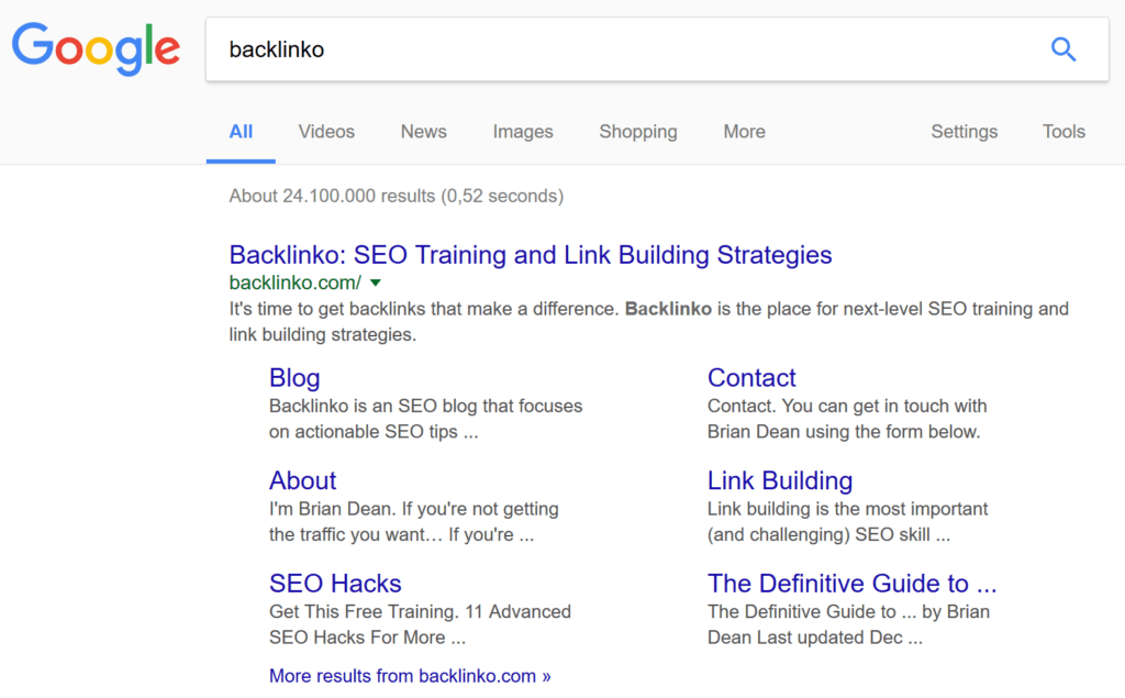 backlinko search