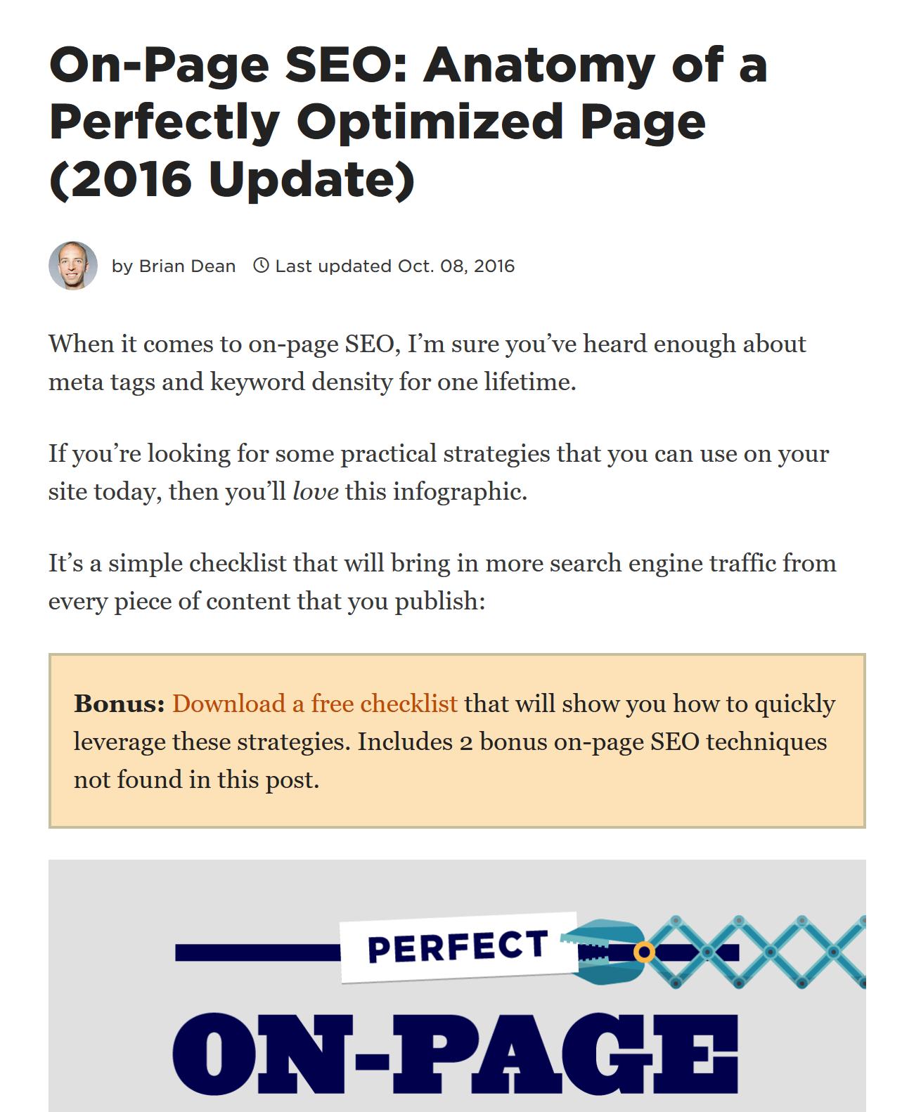 post on page seo