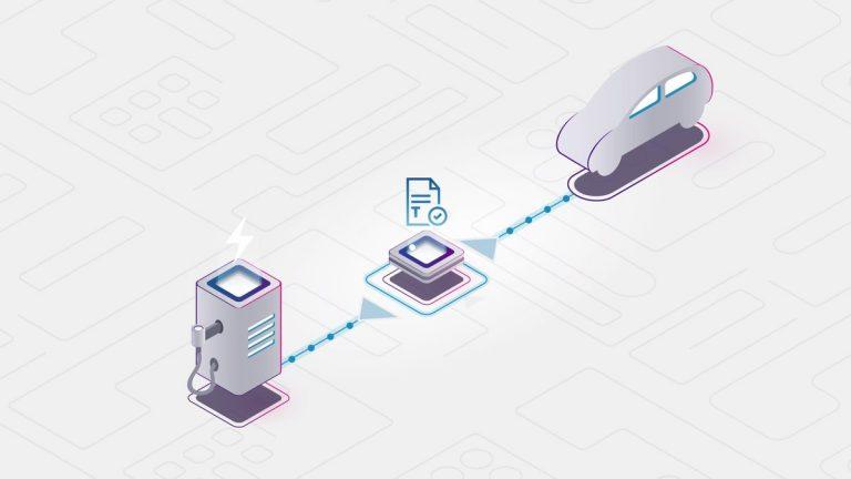 bosch blockchain car charging